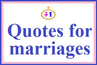 Quotes of marriage